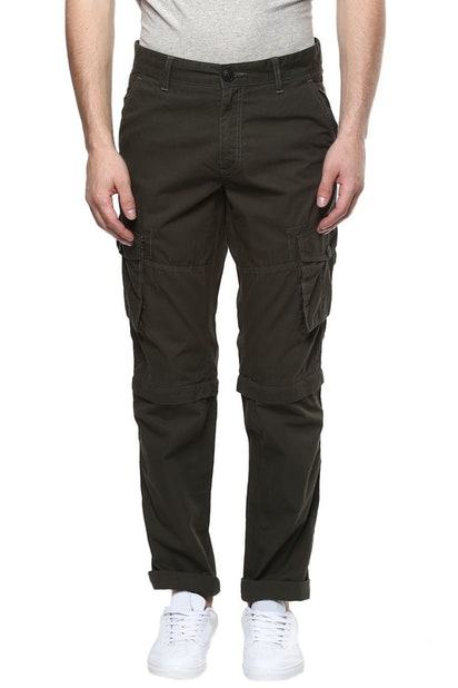 2108c87be RIG by Pantaloons Trousers & Chinos, Pantaloons Olive Detachable ...