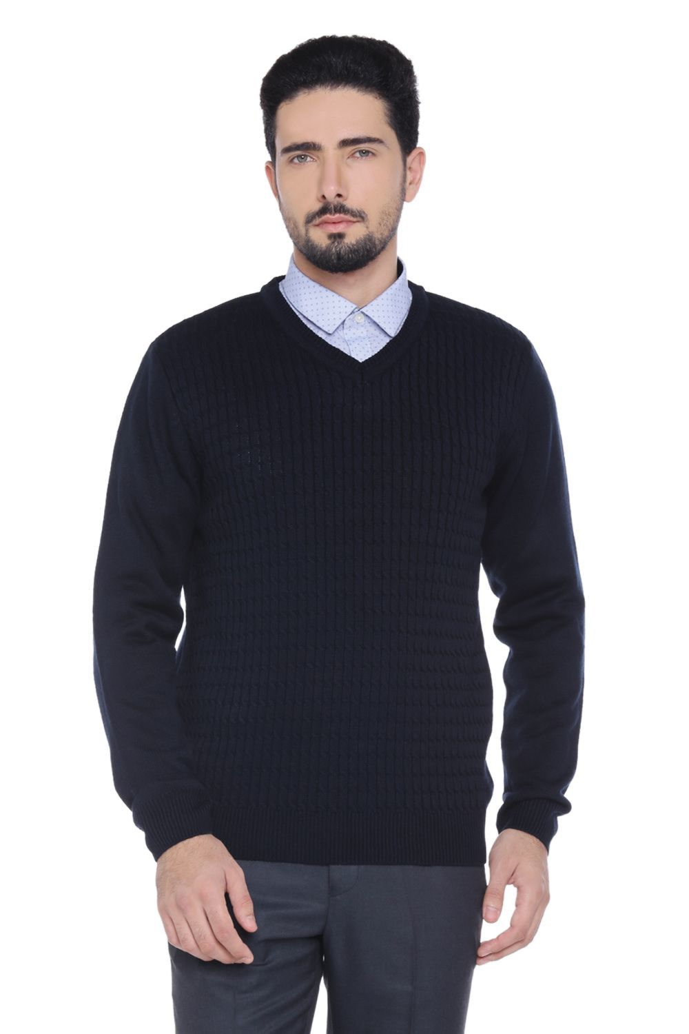 bf799726623 Shop Sweaters for Men Online in India at Pantaloons Online Store