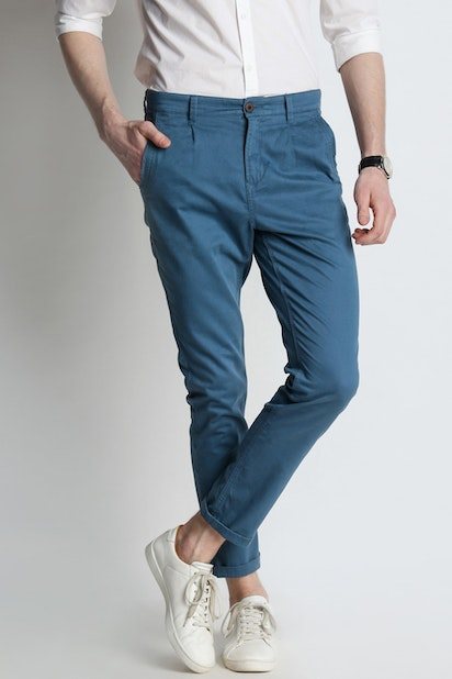 low price delicate colors classic chic Urban Ranger by Pantaloons Trousers & Chinos, Pantaloons ...