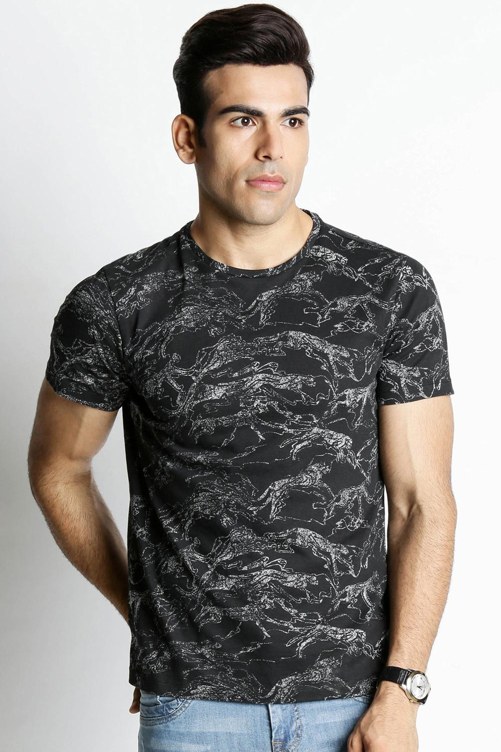 c1e135f95de099 Buy T Shirts for Men Online with Best Price in India