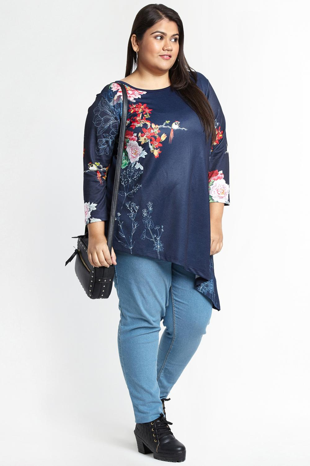 71386b90e5e Pantaloons Plus Size for Women - Discover the range of women topwear ...