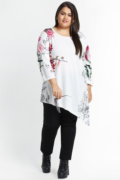 ddcba1277dd22c Alto Moda by Pantaloons Plus Size, Pantaloons White Top for Women at ...