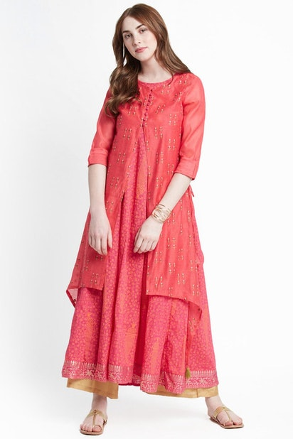 eeafd9ec62 Trishaa by Pantaloons Dresses, Pantaloons Red Dress for Women at ...