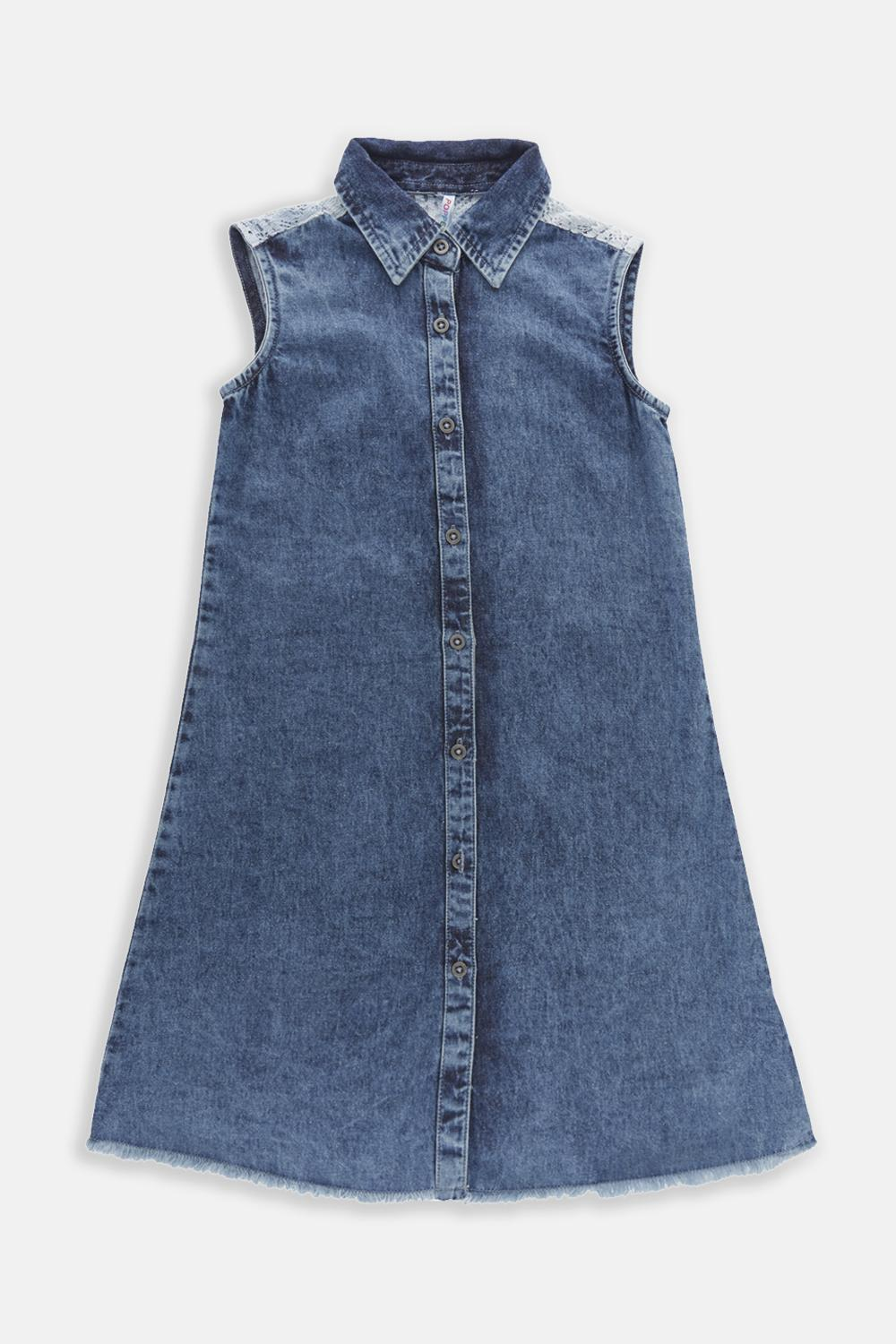 e9a8617ec34 Poppers by Pantaloons Frocks, Pantaloons Blue Dress for Girls at ...