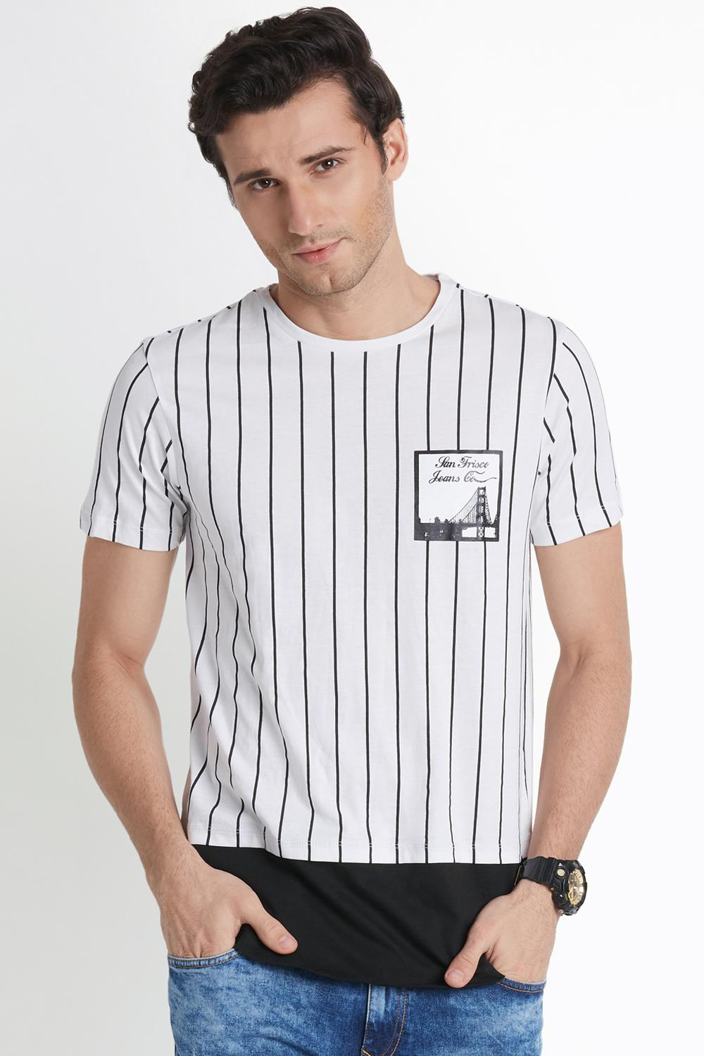 75407d03a35 Buy T Shirts for Men Online with Best Price in India
