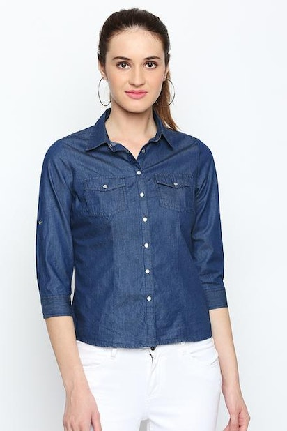 c406f4227e6 Bare Denim Shirts   Blouses