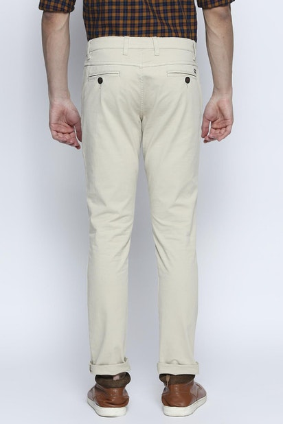 f081d10695d3f5 Byford Trousers & Chinos, Pantaloons Grey Trousers for Men at ...