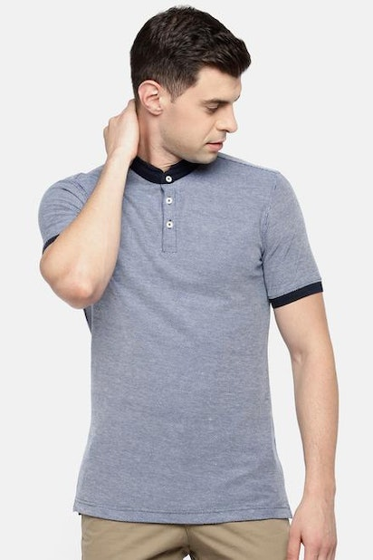 390c0f83 Spiritus T-Shirts, Pantaloons Blue T Shirt for Men at Pantaloons.com