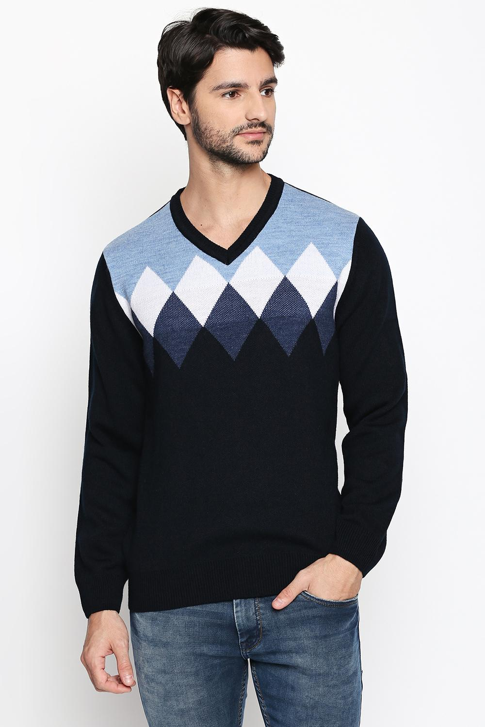 6bbb3ec8 Shop Sweaters for Men Online in India at Pantaloons Online Store