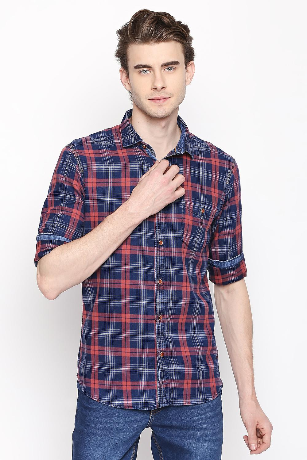 4803c012f72 Buy Mens Casual and Formal Shirts Online with Affordable Price in ...