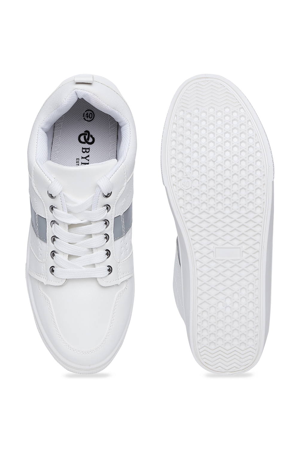 Pantaloons White Casual Shoes - Selling