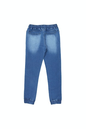 Medium Blue Solid Jeans
